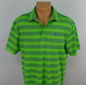 Under Armour Heatgear short sleeve polo shirt. L